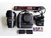 Canon EOS 5D mark II + Canon 35mm f 1.4 L USM + EXTRAS