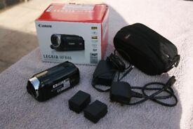 Canon Legria HF R46 HD Camcorder + Extras