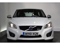 VOLVO C30 1.6 R-DESIGN 3d 100 BHP (white) 2010