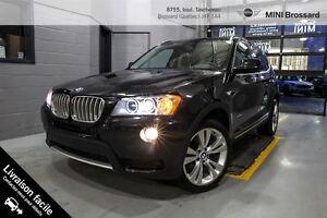 2014 BMW X3 **VENDU** PROMO xDrive35i + 30 000 KM + NAV +