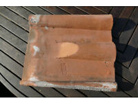 Old Double Roman Hand Made Roof Pantiles