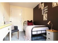 Modern furnished rooms in new development close to Swadlincote