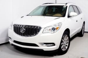 2016 BUICK ENCLAVE AWD LEATHER NAVI TOIT PANO 7 PASSAGERS