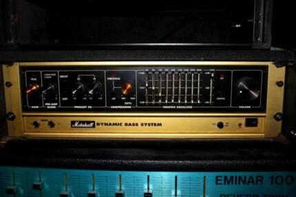 Marshall DBS Bass Rig Amp Speakers
