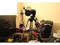 Celestron nexstar telescope,computerised goto,immaculate condition,lots of extras