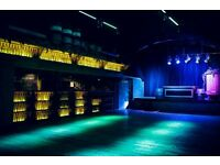 Bartenders and Supervisors for London Fields Brewery's Event Space E8