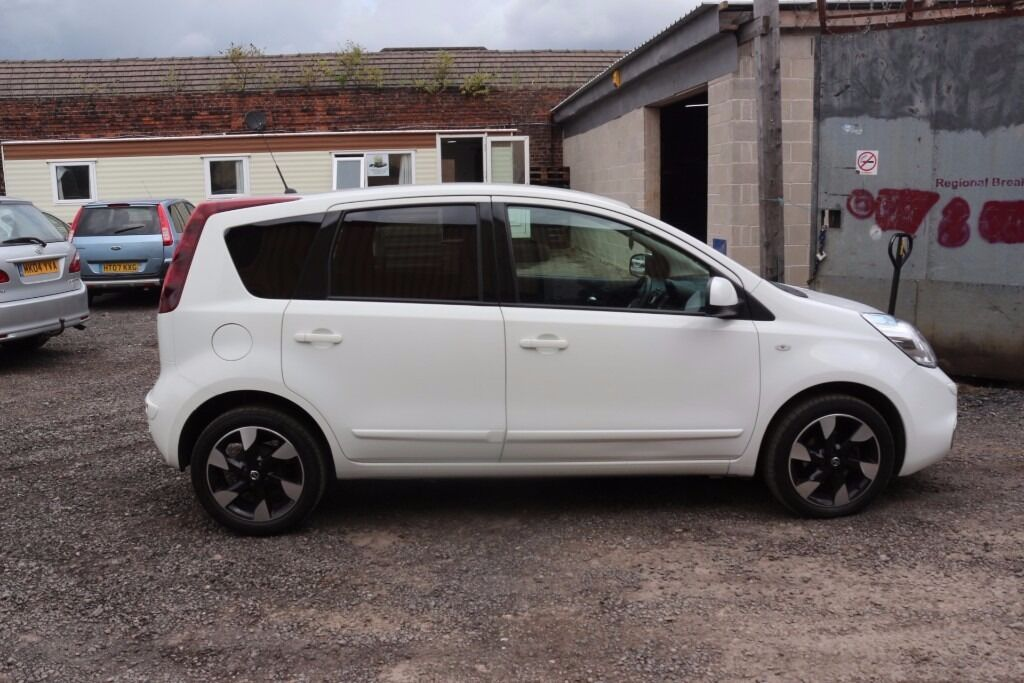 nissan note 2012 white automatic low mileage in blackley manchester gumtree. Black Bedroom Furniture Sets. Home Design Ideas