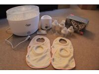 Tommee Tippee Steriliser, Bottle Warmer & Bottle Bundle