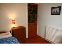 SINGLE ROOM TO RENT IN HUGE 2 BEDROOM FLAT, (now a dbl bed, not like the picture)