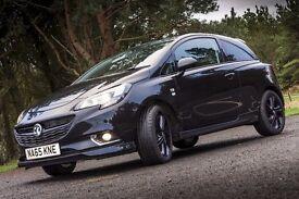 FOR SALE: Vauxhall Corsa 1.2 (petrol) Ltd. Edition / Black