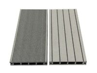 Light grey composite decking boards 1.3 sq Metres