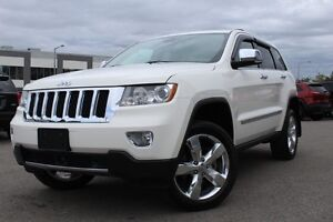 2012 Jeep Grand Cherokee OVERLAND PLUS 4X4 *CUIR/TOIT/GPS/GROUPE