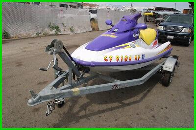 (OSC) 1995 Kawasaki STS Jet ski and Tow Trailer NO RESERVE