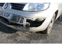 RENAULT SCENIC - REPAIRS REQUIRED - DRIVABLE - SPARES IN EXCELLENT CONDITION