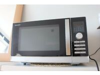 Practically new SHARP microwave/oven/grill in one