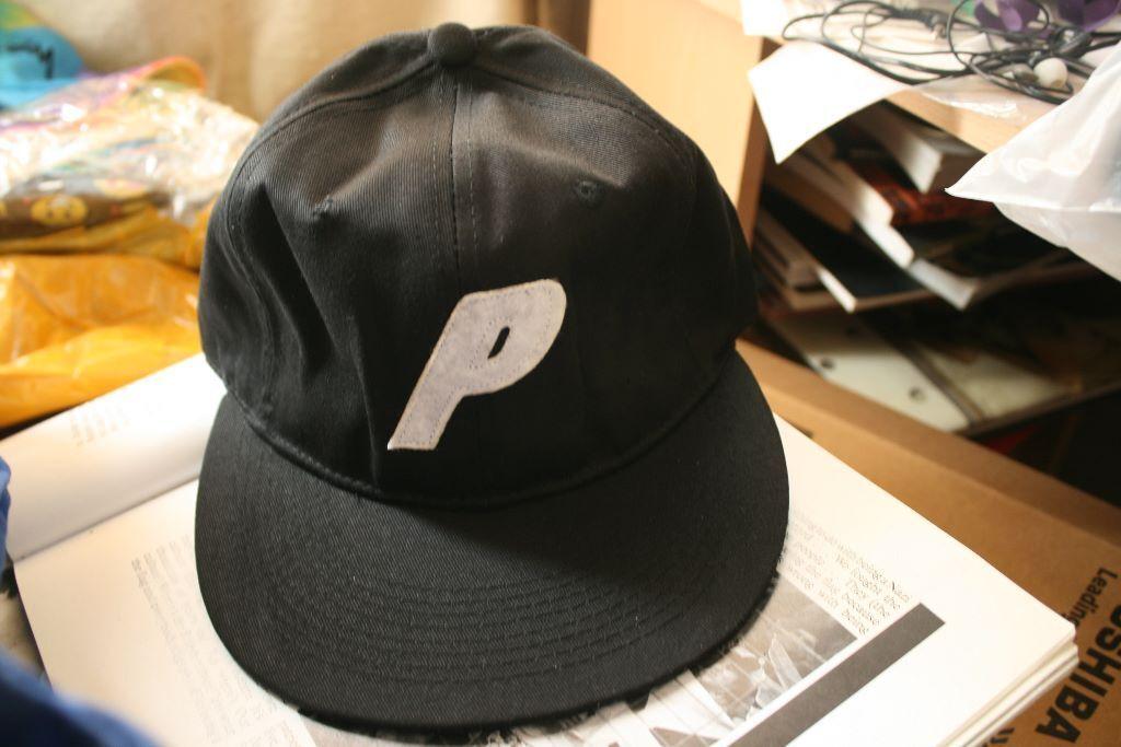 be756cf9237cb Palace Skateboards 6 Panel Stadium Black Cap Hat Snapback Supreme Gosha  Rubchinskiy Nike Adidas