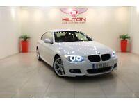 BMW 3 Series 2.0 320d M Sport 2dr (white) 2011