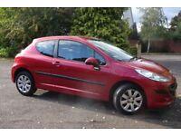 Peugeot 207, Petrol, 2007, Low Mileage, 3 Door, Manual, Ideal First Car