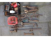 Lot of vintage hand tools