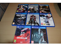 13 PS4 Games for sale