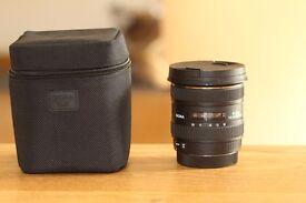 Sigma EX 10-20mm f/4.0-5.6, Canon fi