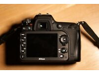 Nikon D7200 with Genuine battery grip