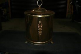 Brass coal bin ( scuttle)