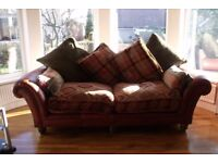 Eastwood Large 3 seater and 2 Seater Leather & Fabric Sofa,s