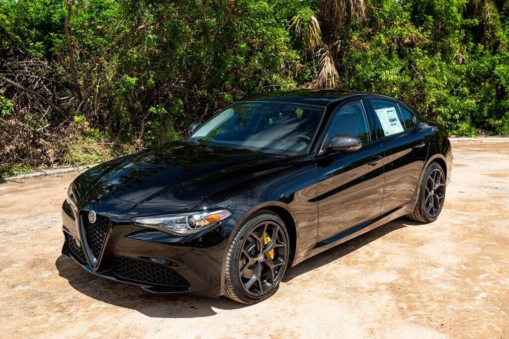 2020 Alfa Romeo Giulia 80 Miles Alfa Black 4d Sedan I4 8 ...