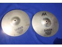 Sabian AA 12 Inch Mini Hi Hat Cymbals