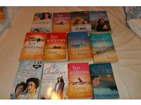 Job lot of Lyn Andrews Books - 25 in total