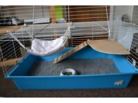 RODENT CAGE + ACCESSORIES