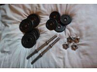adjustable metal dumbbell 2.5kgx4 1.25kgx4