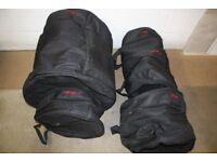 Stagg Padded Drum Kit Cases - 10in + 12in Toms + 14in Floor Tom + 20in Bass + 14in Snare