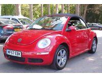 Volkswagen Beetle 1.6 Luna Cabriolet 2dr MOT TILL APRIL 2018