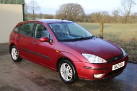 Ford Focus 1.6 Zetec. 2004. 116k. Good runner. Reliable. Clean and tidy car. Air Con. Heated screen.