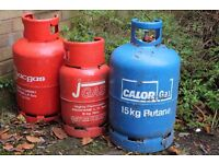 gas bottles propane and butane