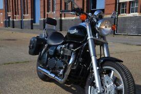 Black 2005 Triumph Speedmaster 865cc