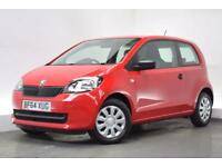 SKODA CITIGO 1.0 S 12V 3d 59 BHP (red) 2014