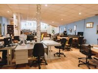 Affordable Fixed Desk Space in Central Bristol BS1 | Internet & All Bills Included