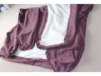 Ikea Loose Covers (NOT THE SOFA!) to fit Nikkala large Sofa Purple, used but good condition