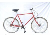 Post Office old deliver bicycle for sale red Pashley vintage classic mens bike