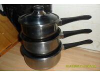 1810 pan and steamer set