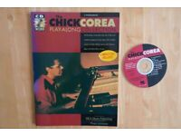 Playalong Music Books with cds – Chick Corea, Aebersold 41 Standards, Aebersold 50 Miles.