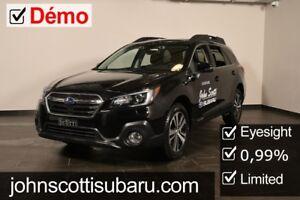 2018 Subaru Outback Limited Demonstrator