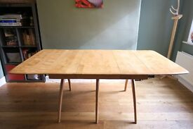 Original Heywood Wakefield Mid Century Dining Table, Chairs and Sideboard