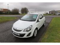 VAUXHALL CORSA 1.0 EXCITE ECOFLEX,2014,Only 27,00mls,Full Service History,Alloys,Half Leather,Seats