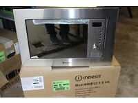 Hotpoint Newstyle MWH 122.1 X Built-in Microwave - Stainless Steel 1 YR MANUFACTURERS WARRANTY