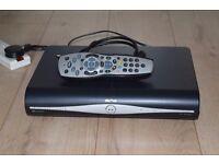 SKY PLUS HD BOX WITH REMOTE