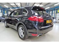 Porsche Cayenne D V6 TIPTRONIC [1 OWNER/SAT NAV /BOSE SPEAKERS] (jet black pearl metallic) 2011